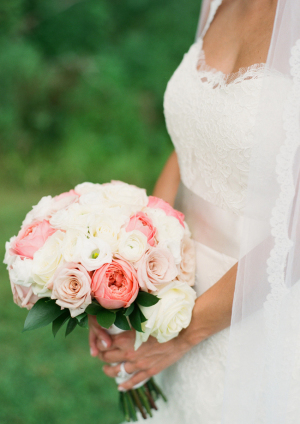 Pink and White Bride Bouquet