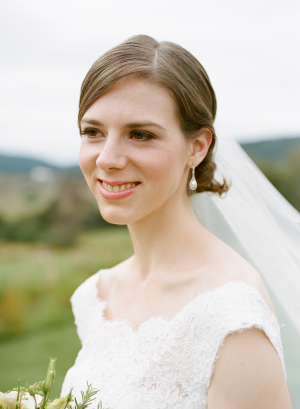 Virginia Farm Wedding Bride