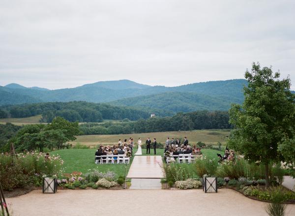 Virginia Blue Ridge Mountains Wedding
