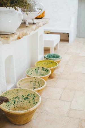 Pottery at Masseria Potenti