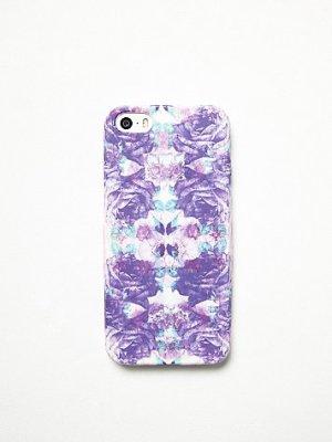 Purple Pattern IPhone Case