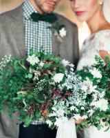 Rustic Holiday Wedding Inspiration