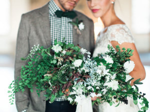 Rustic Holiday Wedding Inspiration