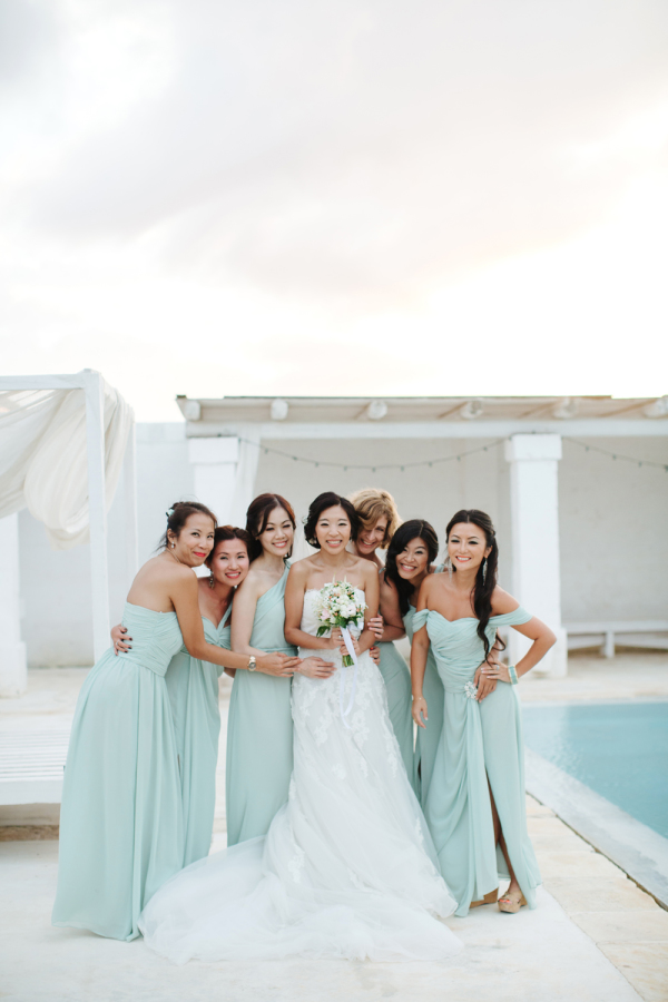 Seafoam Bridesmaids Dresses