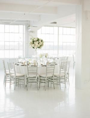 Silver Loft Wedding Reception