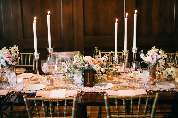 Soft romantic mountain wedding elizabeth anne designs