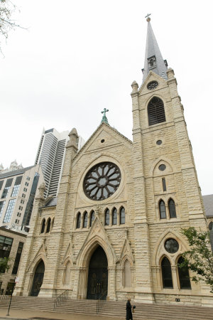 Wedding at Holy Name Cathedral 1