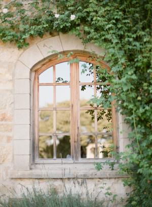 Window at Sunstone Winery
