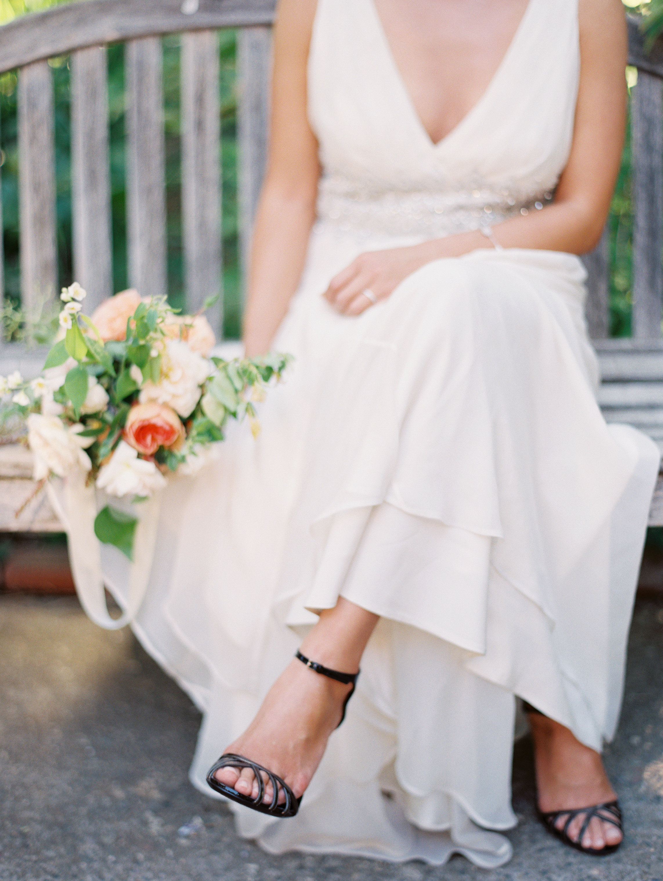 Black Shoes White Wedding Dress Ficts