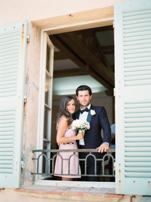 Bride in Chanel