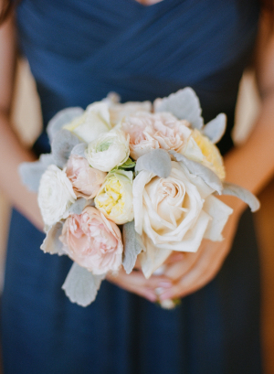 Bridesmaid Bouquet with Dusty Miller