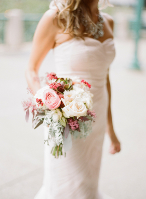 Bridesmaids Bouquet in Shades of Pink