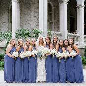 Cornflower Blue Bridesmaids