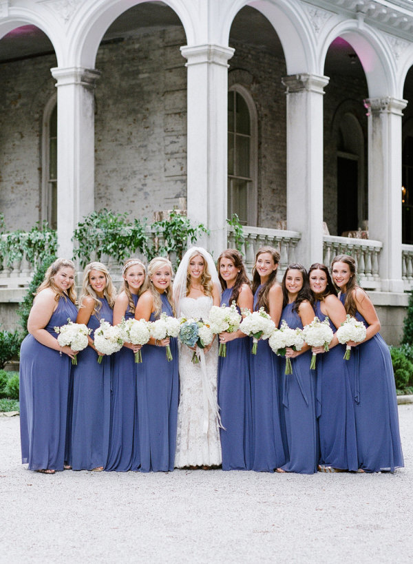 Cornflower Blue Bridesmaids