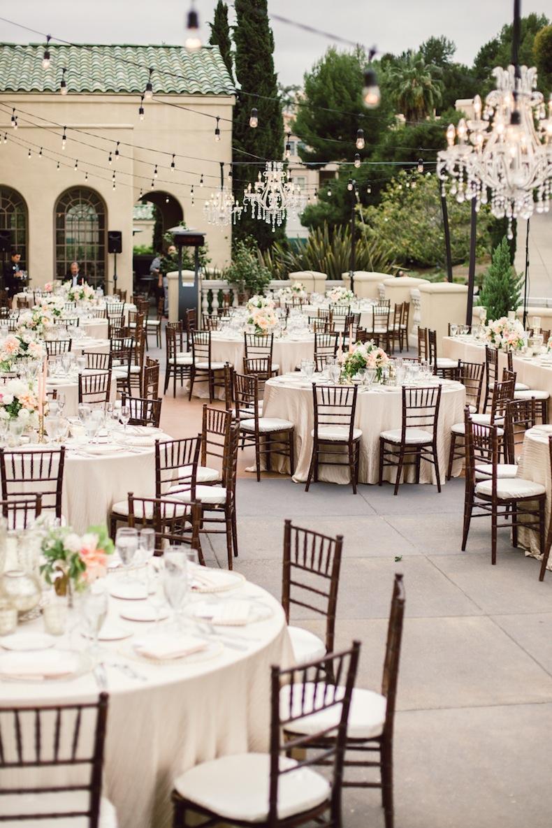 Elegant Outdoor Wedding Reception