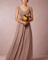 Evangeline Dress Dusty Mauve