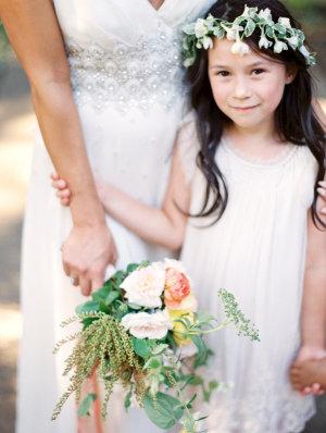 Flower Girl in White