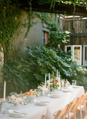 Garden Wedding at Corson Building