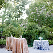 Gold Sequin Linens
