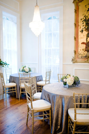 Green and Gray Reception