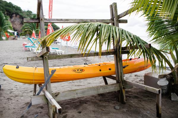 Kayak in Martinique