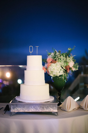 Modern Wire Cake Topper