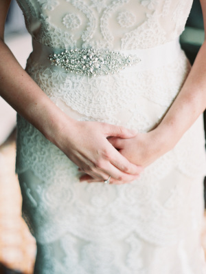Moonlight Bridal Lace Gown