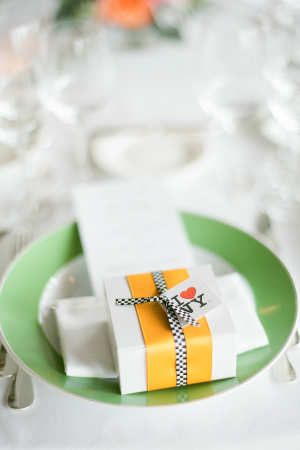 New York Theme Wedding Favors
