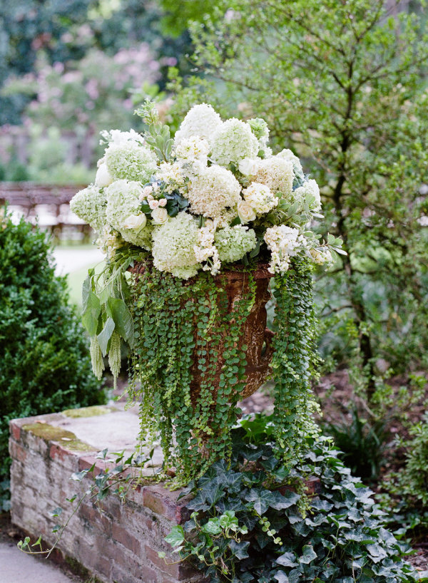 Overflowing Greenery Arrangement