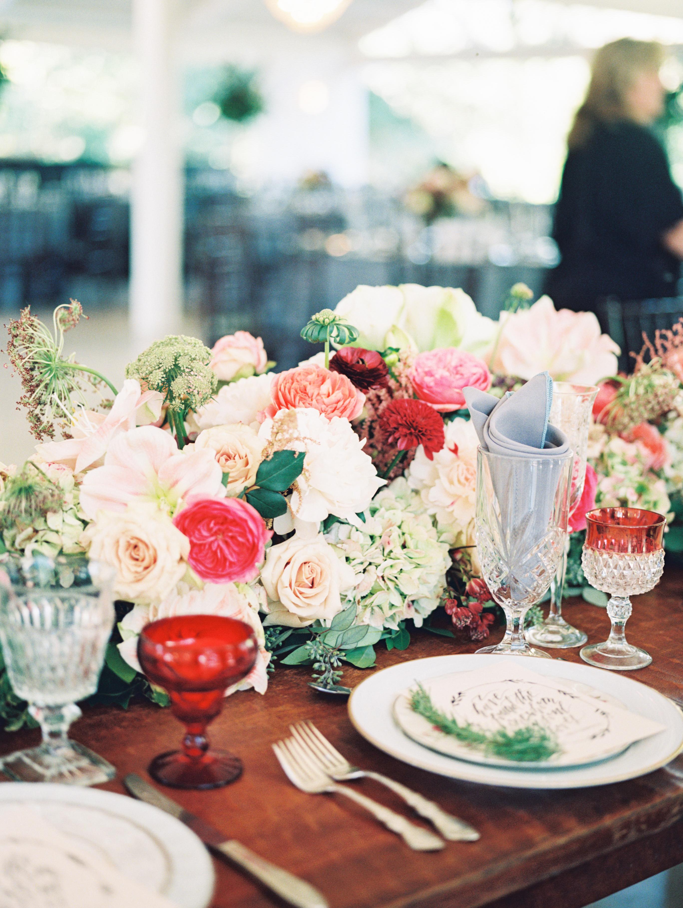 Red and Ivory Wedding Flowers - Elizabeth Anne Designs: The Wedding Blog