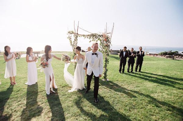 San Diego Seaside Wedding