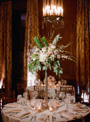 Spray Flower Topiary Centerpiece