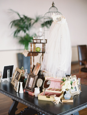 Vintage Family Items at Wedding