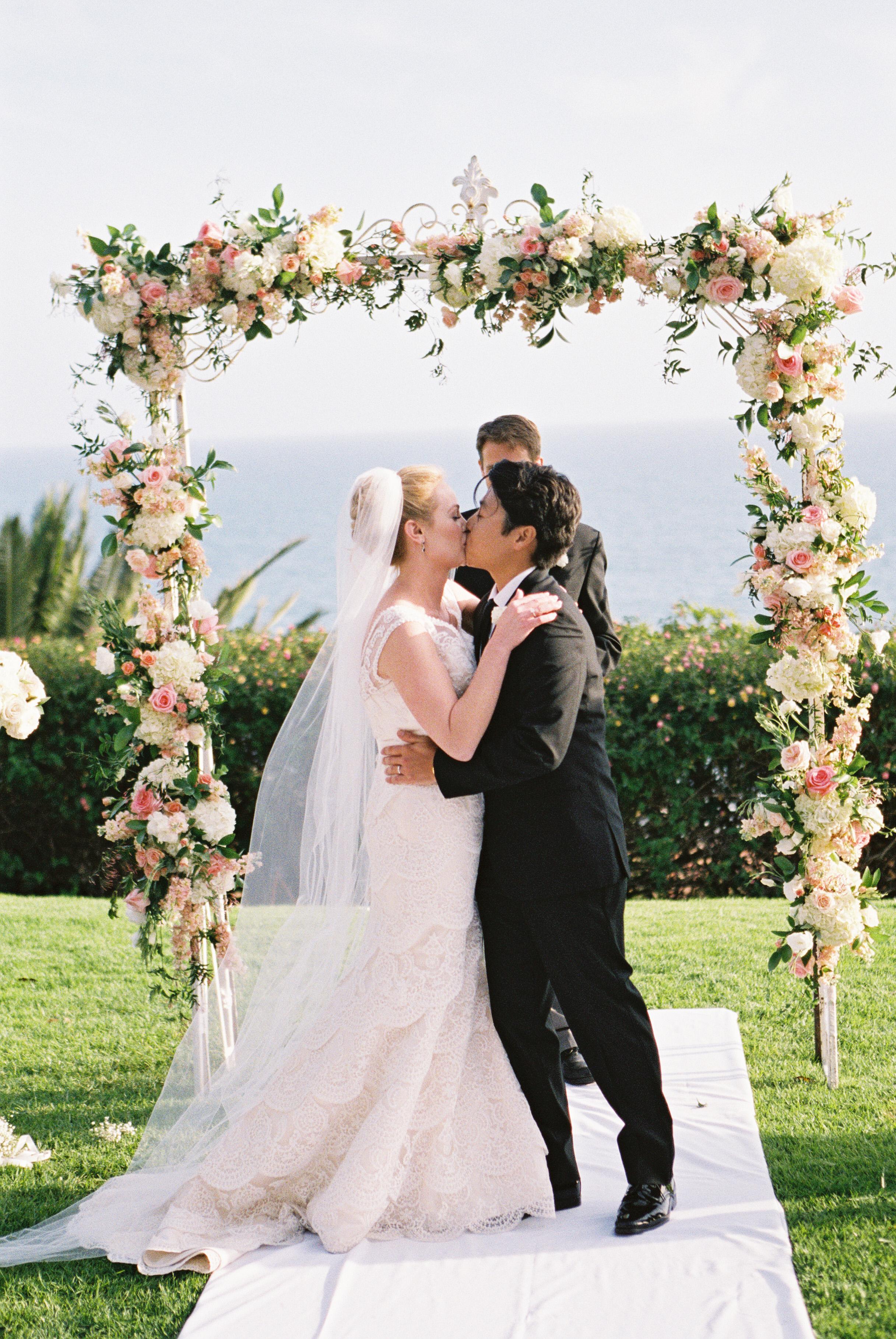 Wedding Arch With Flowers Elizabeth Anne Designs The