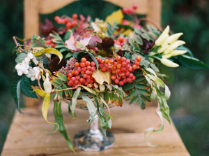 Autumn Centerpiece By Petal Talk
