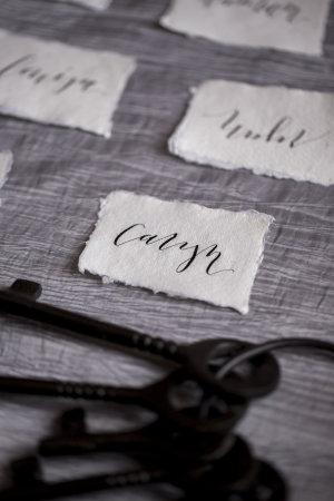 Black Calligraphy