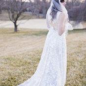 Bride in Claire Pettibone 15