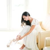 Bride in Elie Saab