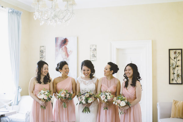 Bridesmaids in J Crew