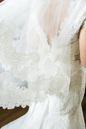 Carolina Herrera Lace Veil