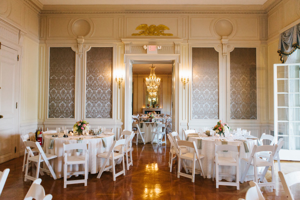 Casual Mansion Wedding Reception