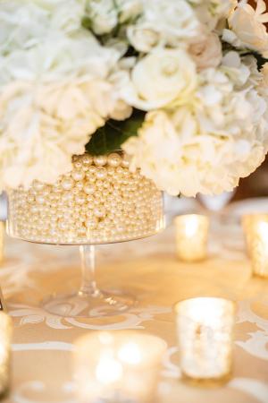 Centerpiece Set in Pearls