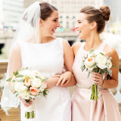 Chic Bridesmaids Updo