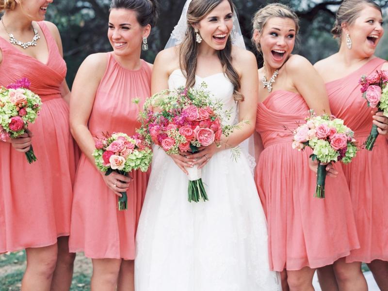 Funky Dark Pink Bridesmaid Dresses Ensign - Wedding Dress Ideas ...