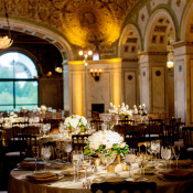Elegant Gold and Ivory Reception
