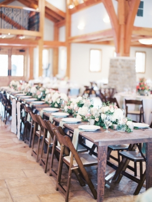 Farmhouse Wedding Tables