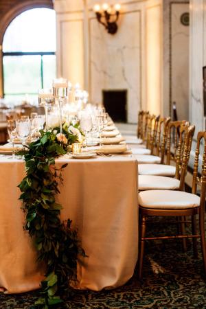 Garland Wedding Centerpiece