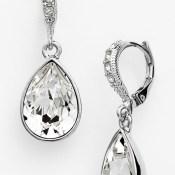 Givenchy Small Teardrop Earrings
