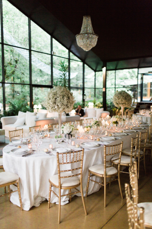 Gold and Blush Reception