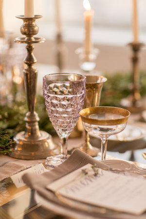 Gray and Green Wedding Table 3